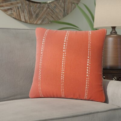 Boscobel Striped Down Filled 100% Cotton Throw Pillow Size: 18 x 18