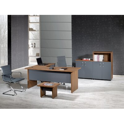 Modern L Shaped Desk Office Suite Puentes Product Picture 327