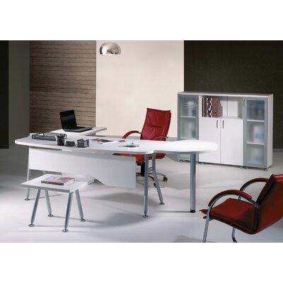 Puente Modern 6 Piece L Shaped Desk Office Suite BSTU3397 45099713