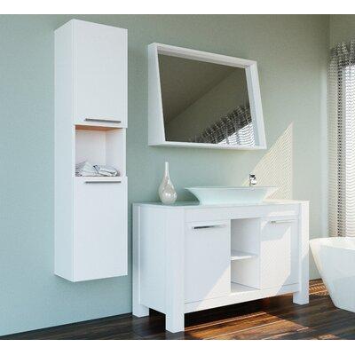 Ellison 47 Single Bathroom Vanity Set with Mirror