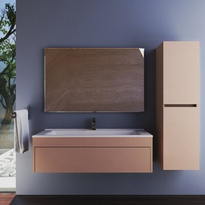Wetherell 26 Single Bathroom Vanity Set with Mirror