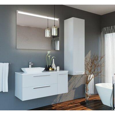 Whetstone 47 Single Bathroom Vanity Set with Mirror