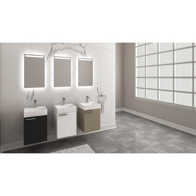 Whirlpool 16 Single Bathroom Vanity Set with Mirror