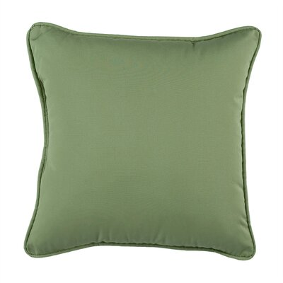 Kilitkaya Solid Square 100% Cotton Throw Pillow