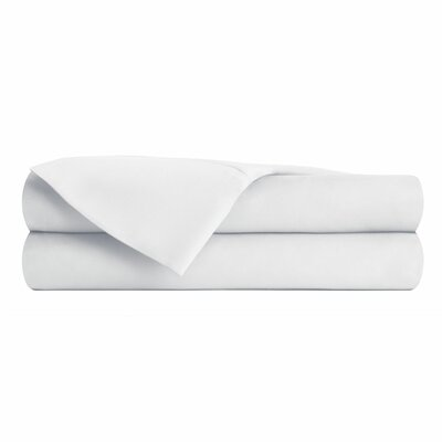 Anthem 180 Thread Count 100% Cotton Sheet Set Size: Full, Color: White