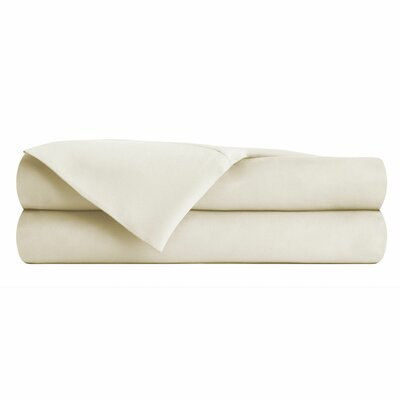 Anthem 180 Thread Count 100% Cotton Sheet Set Size: King, Color: Cream