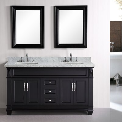 Rosalez 61 Single Bathroom Vanity Set with Mirror