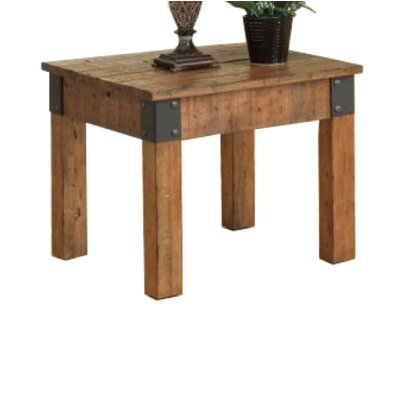 Choncey End Table Color: Brown