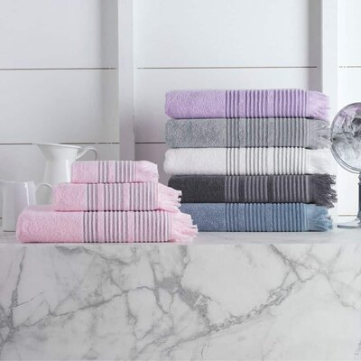 Bundaberg Solid Bath Towel Color: Silver