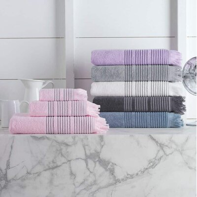 Bundaberg 6 Piece Towel Set Color: Anthracite