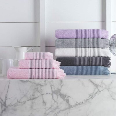 Bundaberg 16 Piece Towel Set Color: Anthracite