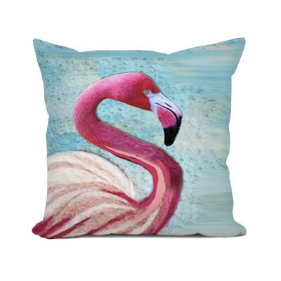 Sunikka Flamingo Throw Pillow