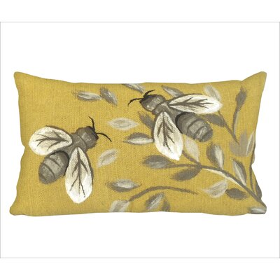 Dimondale Bees Lumbar Pillow