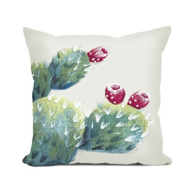 Masie Cactus Pear Throw Pillow
