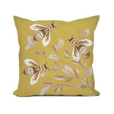 Dimondale Bees Throw Pillow