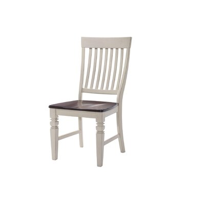 Adalgar Slat Back Wood Dining Chair