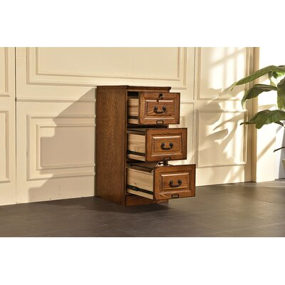 Sarthak 3 Drawer Vertical Filing Cabinet DRBH4141 45195433