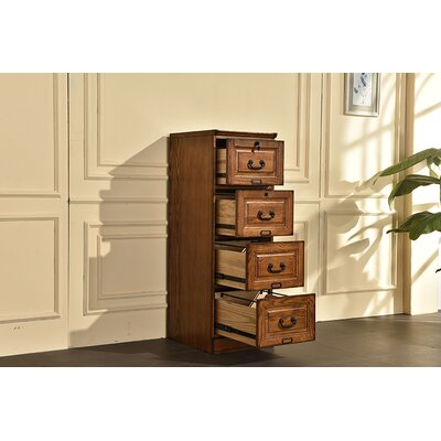 Sarthak 4 Drawer Vertical Filing Cabinet DRBH4142 45195434