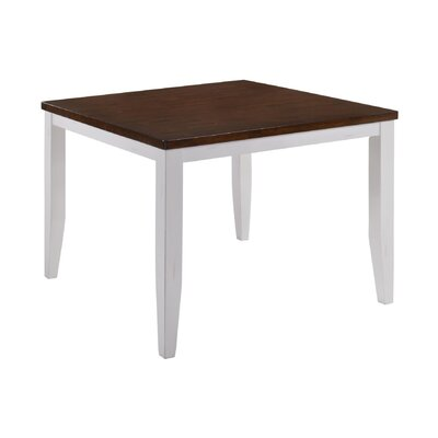 Adalard Gathering Dining Table Base Color: White