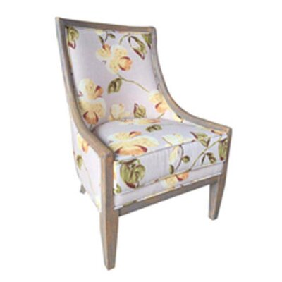 Lars Floral Slipper Chair