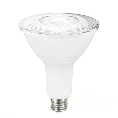 14W Frosted PAR38 E26 Light Bulb (Set of 6) Beam Angle: 25 Degree