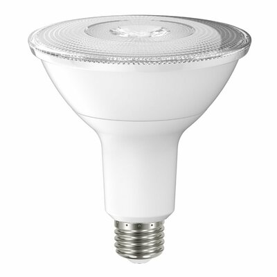 15W Frosted PAR38 E26 Light Bulb (Set of 6) Beam Angle: 25 Degree