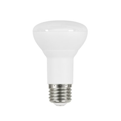 8W Frosted R20 E26 Light Bulb (Set of 6)