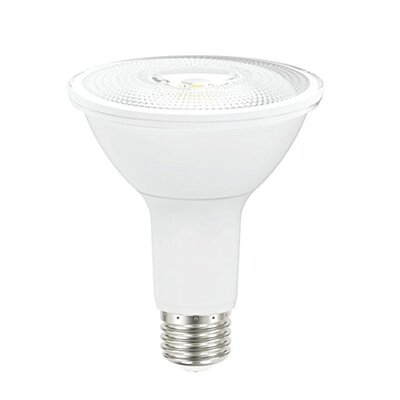 9W Frosted PAR30 E26 Light Bulb (Set of 6) Size: 4.33 H x 3.74 W x 3.74 D