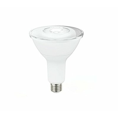 14W Frosted PAR38 E26 Light Bulb (Set of 6) Beam Angle: 40 Degree Flood
