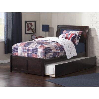Ahoghill Modern Twin Platform Bed Bed Frame Color: Espresso