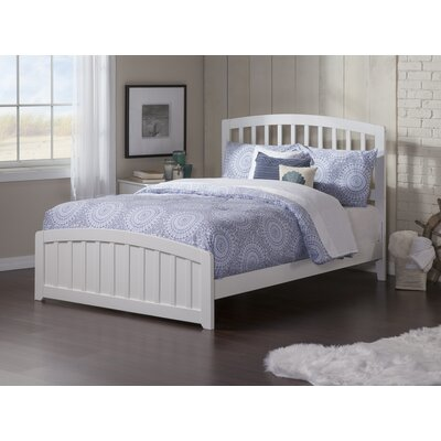 Dau Panel Bed Size: Full, Bed Frame Color: White