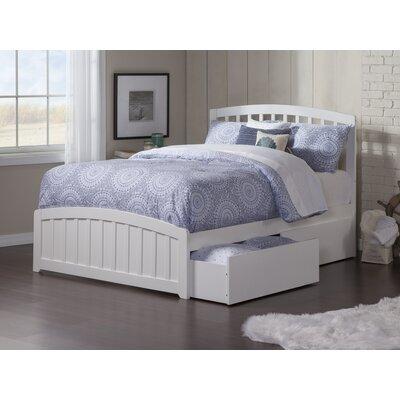 Dau Platform Bed Size: Full, Bed Frame Color: White