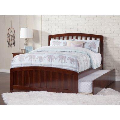 Dau Contemporary Platform Bed Size: Full, Bed Frame Color: Walnut