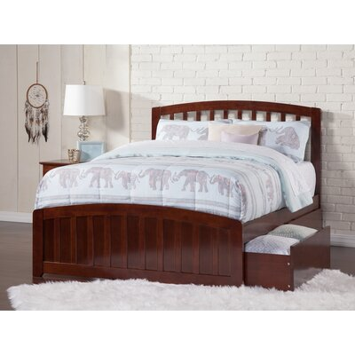 Dau Platform Bed Size: Full, Bed Frame Color: Walnut