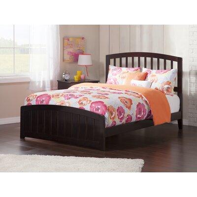 Dau Panel Bed Size: Full, Bed Frame Color: Espresso