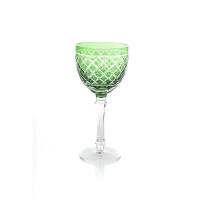 Rademacher Goblet 4 oz. Red Wine Glass Color: Green BLMK7453 45383307