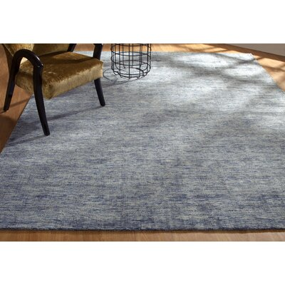 Shirlee Heather Hand-Knotted Gray Area Rug Rug Size: Rectangle 76 x 96
