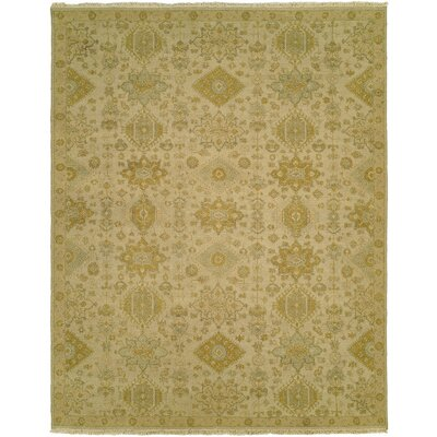 Faiyaz Wool Gold/Beige Area Rug Rug Size: Rectangle 9 x 12