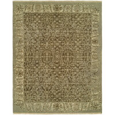 Groat Wool Brown Area Rug Rug Size: Rectangle 6 x 9