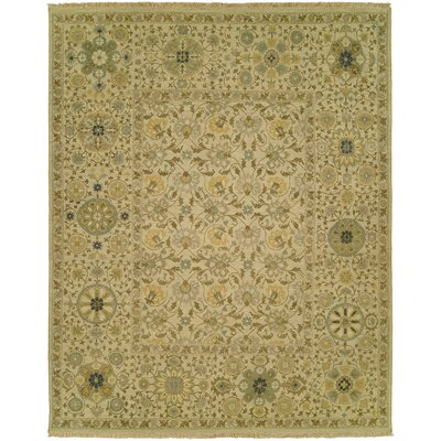 Mascoutah Wool Beige Area Rug Rug Size: Rectangle 9 x 12