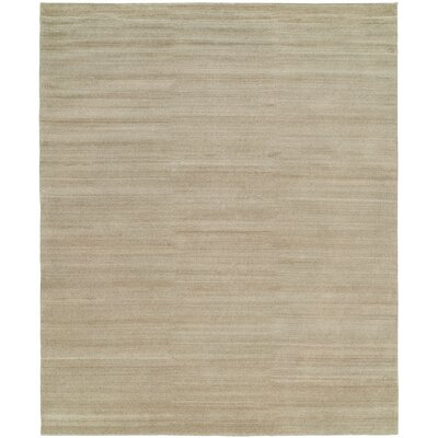 Sigrid Hand-Knotted Wool Beige Area Rug Rug Size: Rectangle 3 x 5