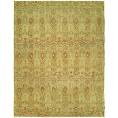 Harte Hand Knotted Wool Beige Area Rug Rug Size: Rectangle 8 x 10