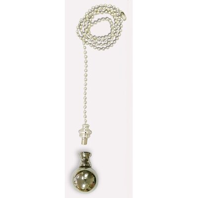 Large Ball Finial Fan Pull Chain