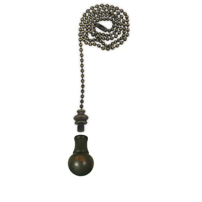 Fan Pull Chain with Small Ball Finial