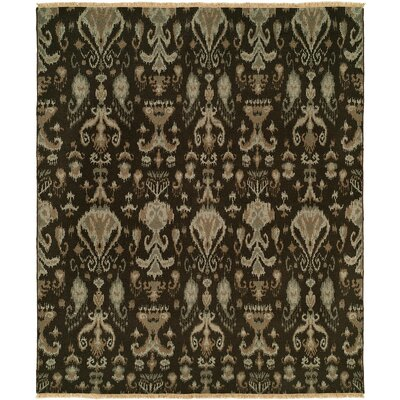 Gunning Wool Brown Area Rug Rug Size: Rectangle 4 x 6