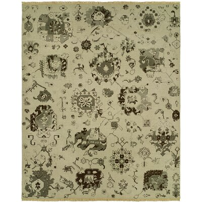 Dominique Wool Ivory Area Rug Rug Size: Rectangle 3 x 5