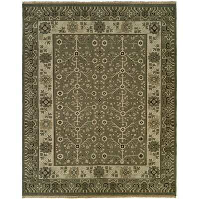 Donaghy Wool Gray Area Rug Rug Size: Rectangle 8 x 10