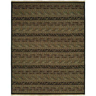 Herman Wool Brown Area Rug Rug Size: Rectangle 4 x 6