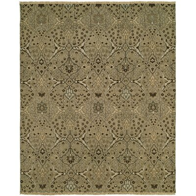 Mazzariello Wool Wheat Area Rug Rug Size: Rectangle 9 x 12