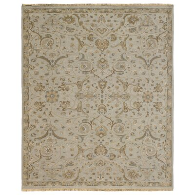 Heritage Wool Gray Area Rug Rug Size: Square 6